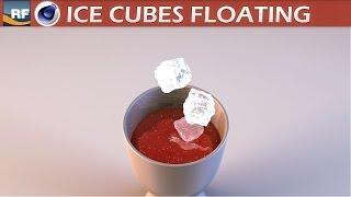 getlinkyoutube.com-Realflow and Cinema 4D Ice Cubes Float Tutorial