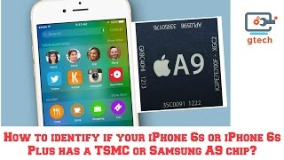 getlinkyoutube.com-How to identify if your iPhone 6s has a TSMC or Samsung A9 chip?