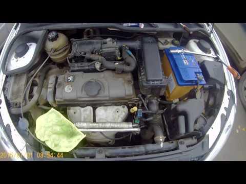 Замена свечей Пежо 206 Седан Peugeot 206 Sedan