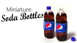 getlinkyoutube.com-Miniature Soda Bottle Tutorial - Pepsi Inspired