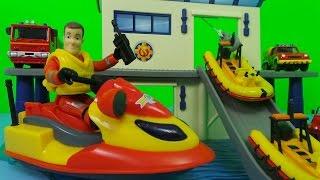 getlinkyoutube.com-🚒🔥 Fireman Sam Full Episode 2017 - Ocean Rescue Sets ! 🌊⚓ TOP 3