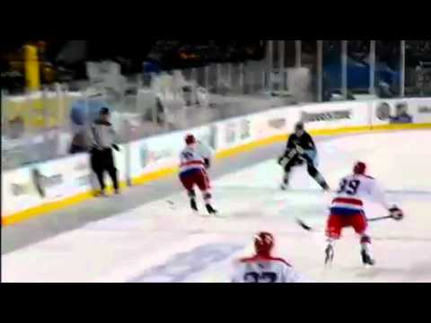 2011 Winter classic - David Steckel blind side hit on Sindey Crosby