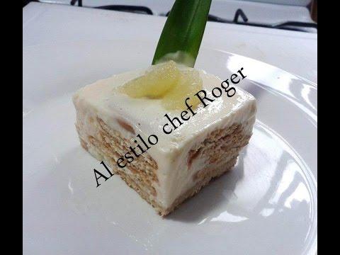 Receta de carlota de limon Receta # 33 pay de limon frio