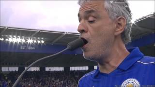 getlinkyoutube.com-Andrea Bocelli performing Nessun Dorma and Con Te Partiro at Leicester