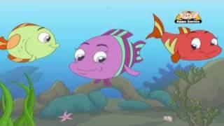 getlinkyoutube.com-Panchatantra Tales in Telugu - A Tale of Three Fish
