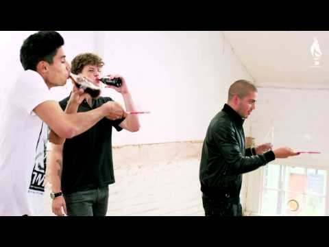 The Wanted: Coca-Cola Future Flames Olympic Challenge 2