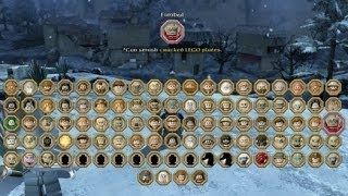 LEGO The Hobbit - Complete Character & Treasure Item Grids (Including DLC)