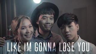 getlinkyoutube.com-Like I'm Gonna Lose You - Meghan Trainor   BILLbilly01 ft. Preen and Ponjang Cover