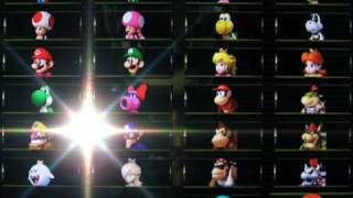 getlinkyoutube.com-[Mario Kart Wii] How to Unlock all Characters