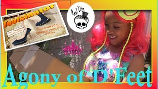 getlinkyoutube.com-New Real Live Monster High | 'Agony of D'Feet' - CreativePrincess