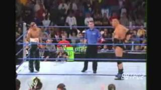getlinkyoutube.com-Brock Lesnar Vs Shannon Moore SD! 12/18/2003