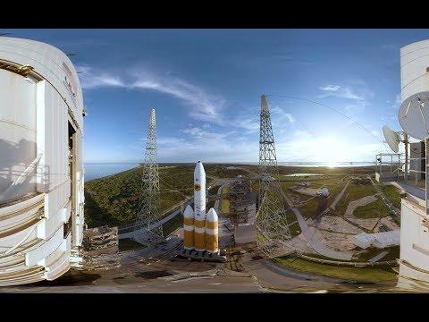 Запуск зонда до Сонця виклали на панорамному відео