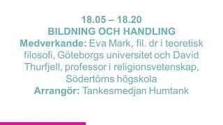Forskartorget -  BILDNING OCH HANDLING