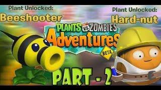 getlinkyoutube.com-Plants vs. Zombies Adventures Part -2