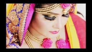 getlinkyoutube.com-Gaye Holud Eye Make Up I Make Over BY Shefa Ahmed Shaju
