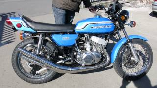 Kawasaki 1972 H2 750 Triple Restoration