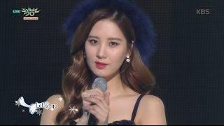 getlinkyoutube.com-[kbs world] 뮤직뱅크 - 소녀시대-태티서, 트윙클 했던 그녀들이 겨울의 산타로 돌아왔다 'Dear Santa'.20151204