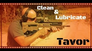 getlinkyoutube.com-How To Clean & Lubricate Your IWI Tavor SAR Bullpup Rifle (HD)