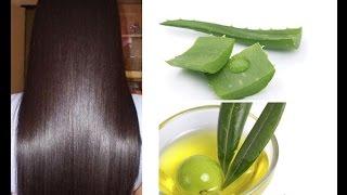 getlinkyoutube.com-DIY Homemade Hair Conditioner _ Aloe Vera & Argan Oil For Dry Hair _ superwowstyle