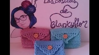 getlinkyoutube.com-MONEDERO A GANCHILO | CROCHET COIN PURSE (Especial día de la madre)