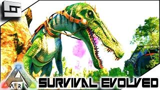 getlinkyoutube.com-ARK: Survival Evolved - BARYONYX TAMING! S4E58 ( The Center Map Gameplay )