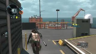 """getlinkyoutube.com-[MGSV:TPP] MGO 3 B.H With Friend In Coral Complex """"Quiet"""""""