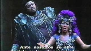 getlinkyoutube.com-Luciano Pavarotti - Maria Chiara - AIDA - Finale - Scala Milano - Lorin Maazel. 1986