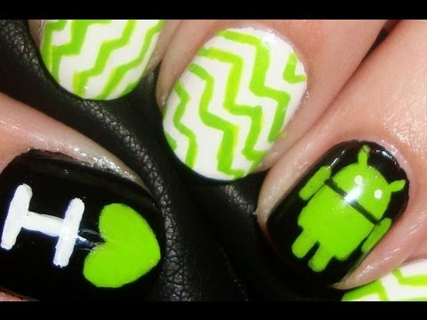 Android Nail Art