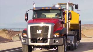 Win a Cat CT660 Vocational Truck
