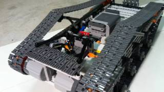 getlinkyoutube.com-Lego Power Functions Tank