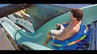 getlinkyoutube.com-Tobogan con tiburones/ Aquaventure Bahamas/ Shark