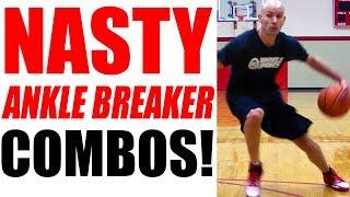 getlinkyoutube.com-NASTY Basketball Ankle Breakers - How To: Best Basketball Moves | Snake