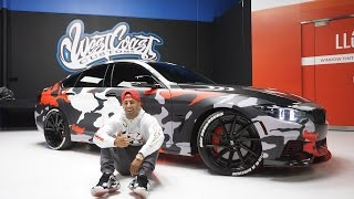 West Coast Customs featuring Armytrix exhaust on Fouseytube's BMW F36 435i Grand Coupe