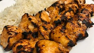 getlinkyoutube.com-How To Make Turkish Chicken Kebab (Tavuk Şiş)