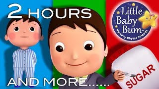 getlinkyoutube.com-Johny Johny Yes Papa | Plus Lots More! | 2 HOURS Nursery Rhyme Compilation from LittleBabyBum!
