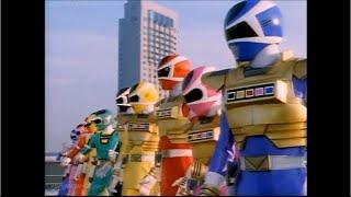 getlinkyoutube.com-Denji Sentai Megaranger vs. Carranger Roll Call