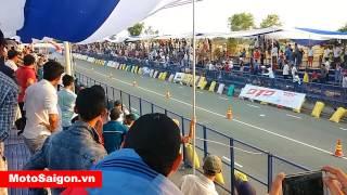 getlinkyoutube.com-MotoSaigon.vn | Đua xe 400m đường thẳng Drag Racing Yaz 125 Exciter 135