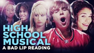 "getlinkyoutube.com-""HIGH SCHOOL MUSICAL: A BAD LIP READING"" -- Bad Lip Reading and Disney XD Present:"