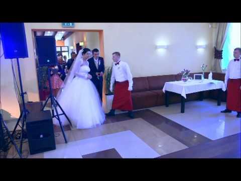 Marsz weselny - Przywitanie gości na sali - Zespół CZTERY KIERY