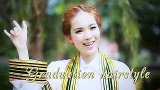 getlinkyoutube.com-[How to] ทำผมรับปริญญา ,Updo By Buablink