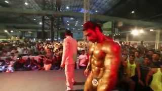 getlinkyoutube.com-SANGRAM CHOUGULE COMPETES FOR JERAI CLASSIC TITLE 2015 AT BODYPOWER INDIA EXPO