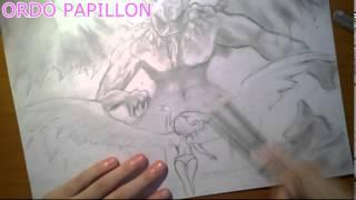 getlinkyoutube.com-Drawing: Angel and demon battle