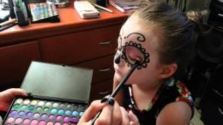 getlinkyoutube.com-STEFANIA MAKEUP de catrina ... #makeup #tutorial #maquillaje #stefania