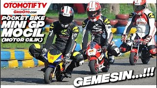 getlinkyoutube.com-Pocket Bike. Tren MOCIL (Motor Cilik) Yang Gemesin...
