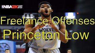 getlinkyoutube.com-NBA 2k16 Freelance Offenses: Princeton Low