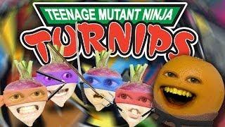 getlinkyoutube.com-Annoying Orange - Teenage Mutant Ninja Turnips (Teenage Mutant Ninja Turtles Spoof!)