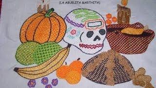 getlinkyoutube.com-La Magia del Bordado Proyecto Dia de Muertos