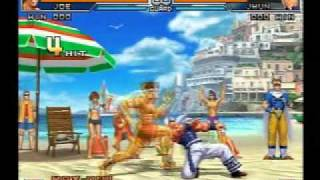 getlinkyoutube.com-KOF 2002 UM Combo Movie Part 1