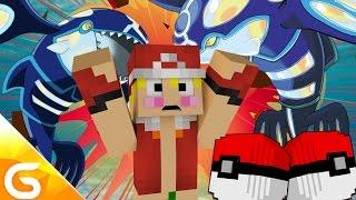 전설의 물고기몬 가이오가 두마리가 게임을 캐리한다..!! [포켓몬 럭키배틀] 마인크래프트 Minecraft [진호]
