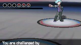 getlinkyoutube.com-Pokemon Black & White 2 World Tournament vs Steven